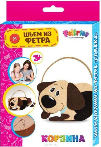 Feltrica Набор для изготовления игрушек Шьем из фетра Собака