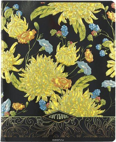 Magic Lines Тетрадь Прекрасные цветы 48 листов в клетку 28232_вид3