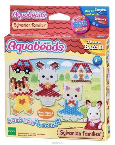 Aquabeads Набор для изготовления игрушек Персонажи Sylvanian Families