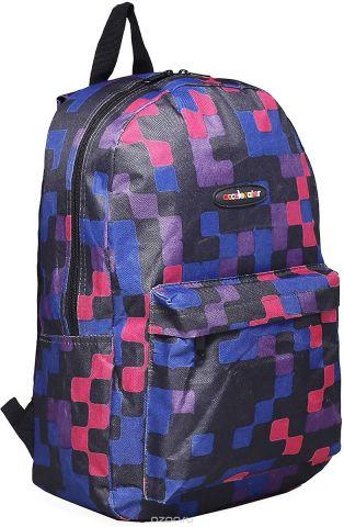 Рюкзак детский Квадраты цвет фиолетовый 1660984