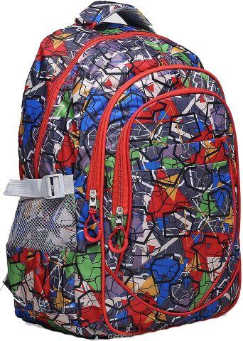 Рюкзак детский Абстракция цвет разноцветный 1661146