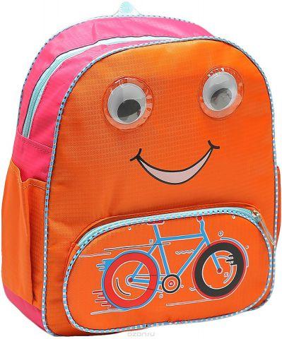 Рюкзак детский Велосипед цвет оранжевый 1661192