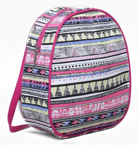 Рюкзак детский Орнамент цвет розовый 1865942