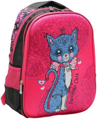 Рюкзак детский Котенок цвет розовый черный 2820267