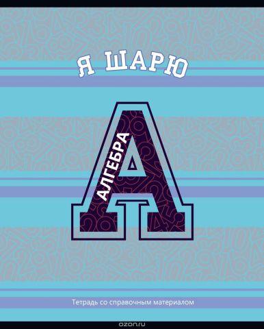BG Тетрадь Motivator 40 листов в клетку цвет голубой фиолетовый 20462