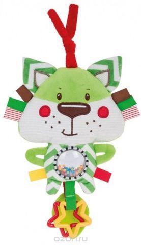 Canpol Babies Игрушка-погремушка с прорезывателем Forest Friends Лисенок
