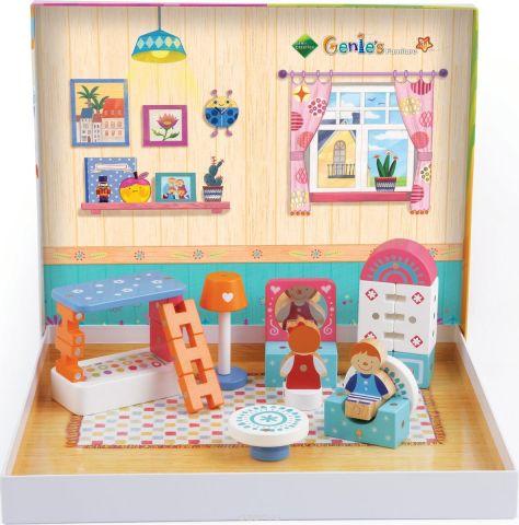 Genii Creation Конструктор деревянный Комната