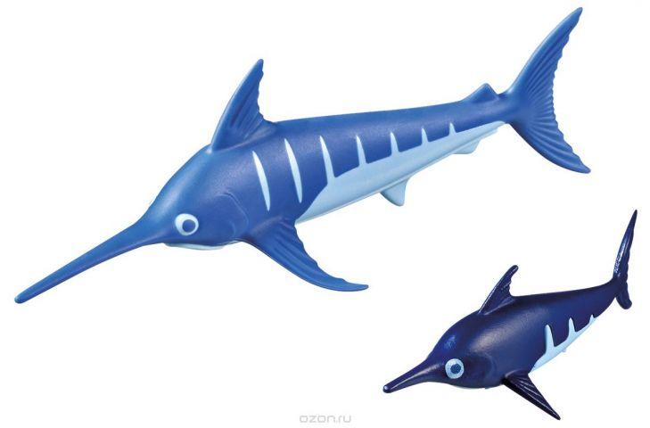 Playmobil Игровой набор Аквариум Рыба-меч с детенышем
