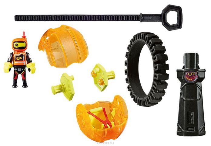 Playmobil Игровой набор Оранжевый гонщик на роликах