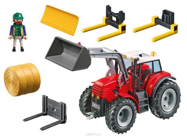 Playmobil Игровой набор Ферма Большой трактор