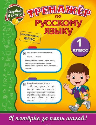 Русский язык. 1 класс. Тренажёр