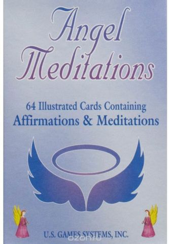 Карты Таро U.S. Games Systems Meditation cards Angel