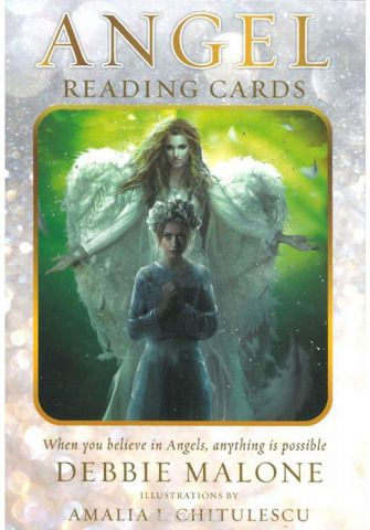 Карты Таро U.S. Games Systems Angel Reading cards