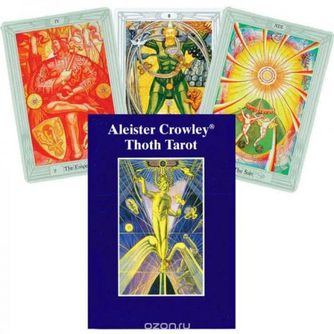 Карты Таро AGMuller Crowley Tarot Pocket Gb