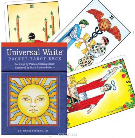 Карты Таро U.S. Games Systems Universal Waite Tarot