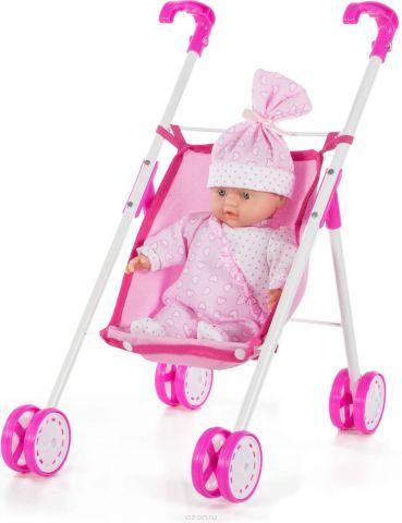 Кукла Loko Tiny Baby, с коляской