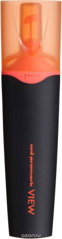 Текстовыделитель Uni, USP-200 цвет: оранжевый, 1,0 - 5,0 мм