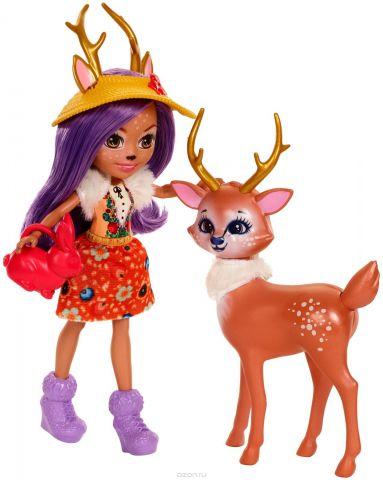 Enchantimals Игровой набор с куклой Garden Magic