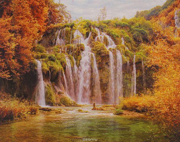 """Картина по номерам Школа талантов """"Водопад"""", 3462665, 30 х 40 см"""