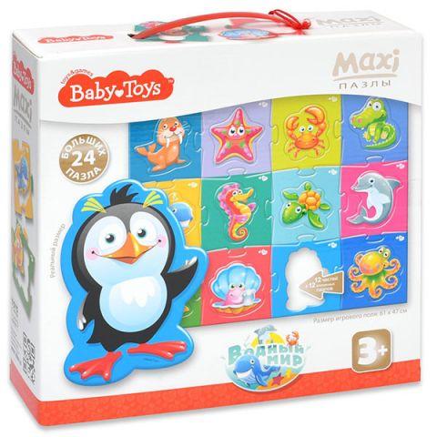 """BABY TOYS TD02511 Пазлы MAXI """"Водный мир"""", (24 эл.)"""
