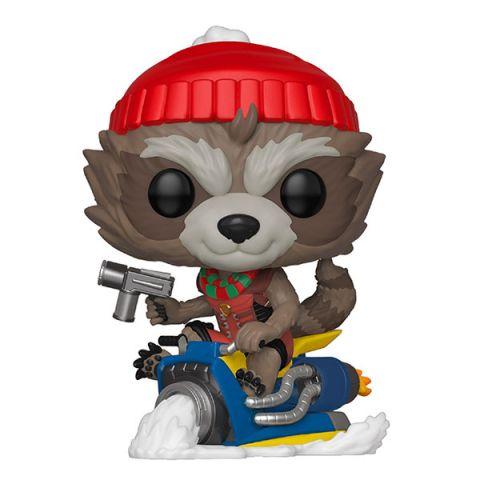 Funko 43334F Фигурка Funko POP! Bobble: Marvel: Holiday: Rocket 43334