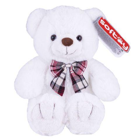 SOFTOY C1716422-1 Медведь белоснежный 30 см
