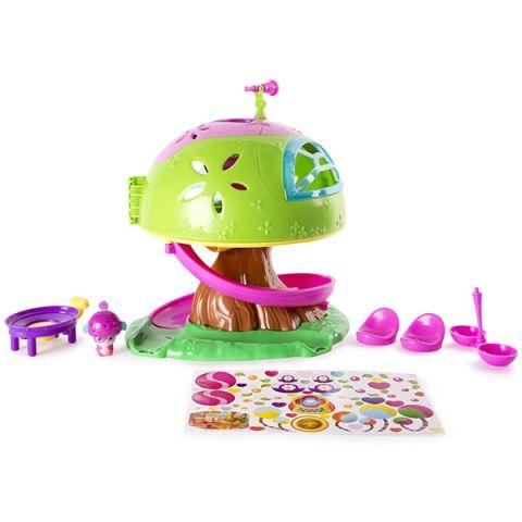 """Popples 56307 Малыши-прыгуши Игровой набор """"Дом на дереве"""""""