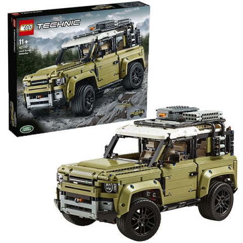 LEGO Technic 42110 Конструктор ЛЕГО Техник LAND ROVER DEFENDER