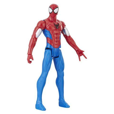 Hasbro Spider-Man E2324/E2343 Фигурка Человека Паука Pow.pack В механизированной броне 30 см