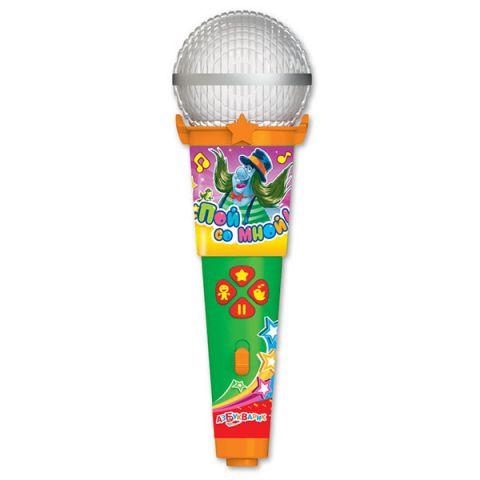 """Азбукварик 1977 Микрофон пой со мной! """"Песенки веселых мультяшек"""""""
