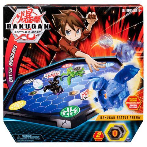 Bakugan 6045142 Бакуган игровой набор с ареной и фигуркой-трансформером
