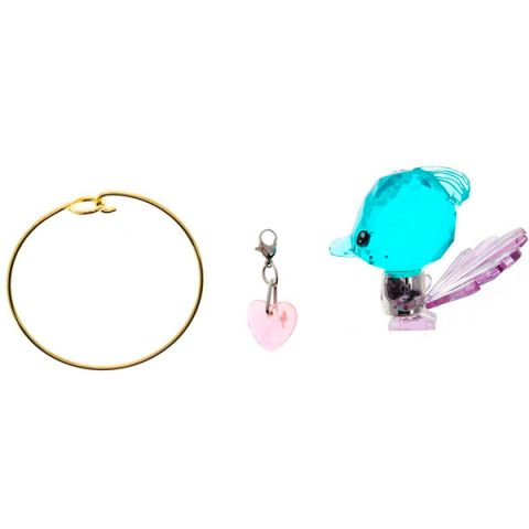Crystal Surprise 45707 Кристал Сюрприз Фигурка Павлин + браслет и подвески