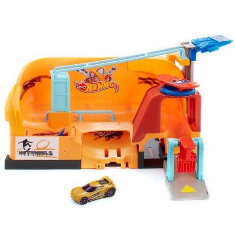 "Mattel Hot Wheels FNB16 Хот Вилс Сити Игровой набор ""Трюк со скейтом"""