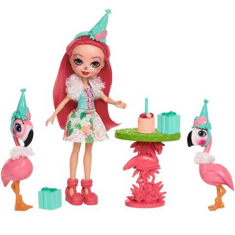 """Mattel Enchantimals FCG79 Игровой набор """"Праздник Фламинго"""""""