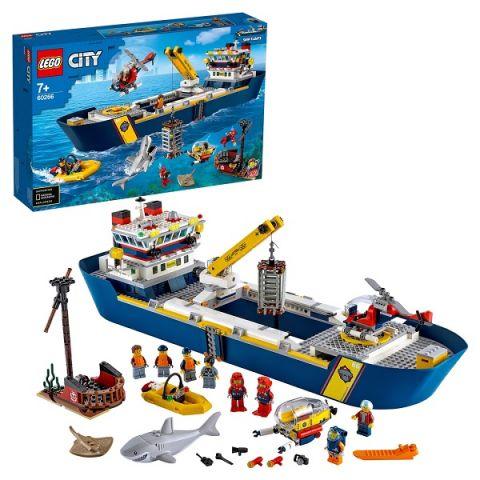LEGO City 60266 Конструктор ЛЕГО Город Океан: исследовательское судно